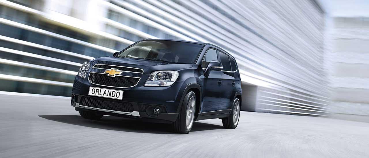 Chevrolet Orlando | 7-sæders MPV